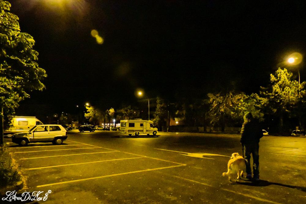 Bobbio parcheggio camper