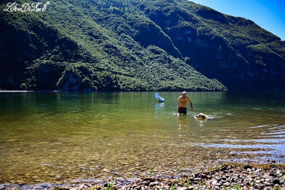 Lago d 39 idro lago di tenno e cascate del varone galleria - Bagno cane dopo antipulci ...