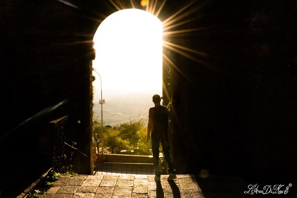 Volterra Porta d'ingresso