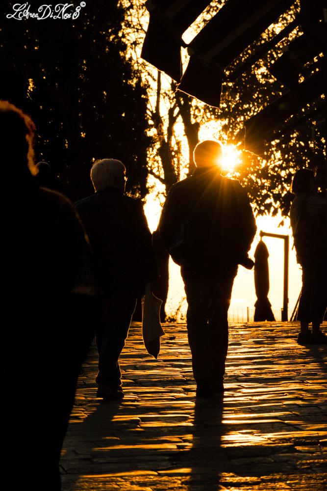 Volterra tramonto