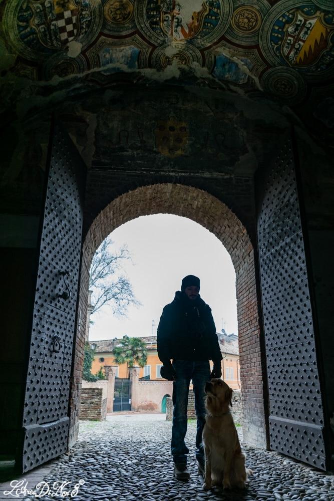 Fontanellato Cortile interno della Rocca