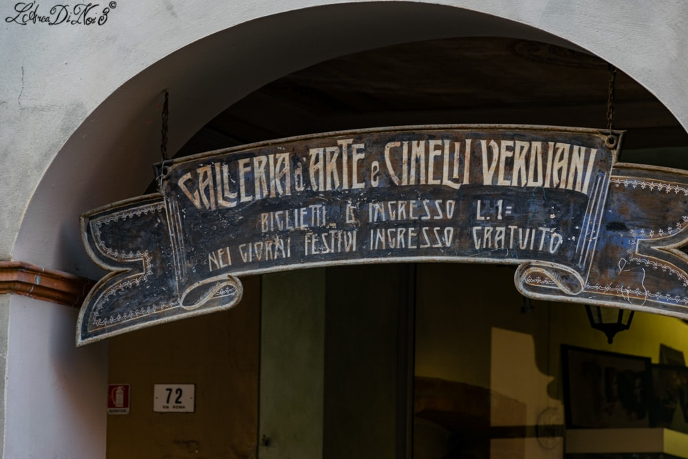 Busseto galleria d arte e cimelii verdiani