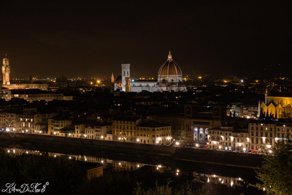 Firenze sera panorama