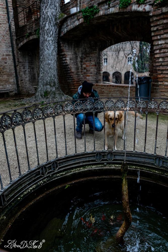 Fontanellato giardino pensile della Rocca