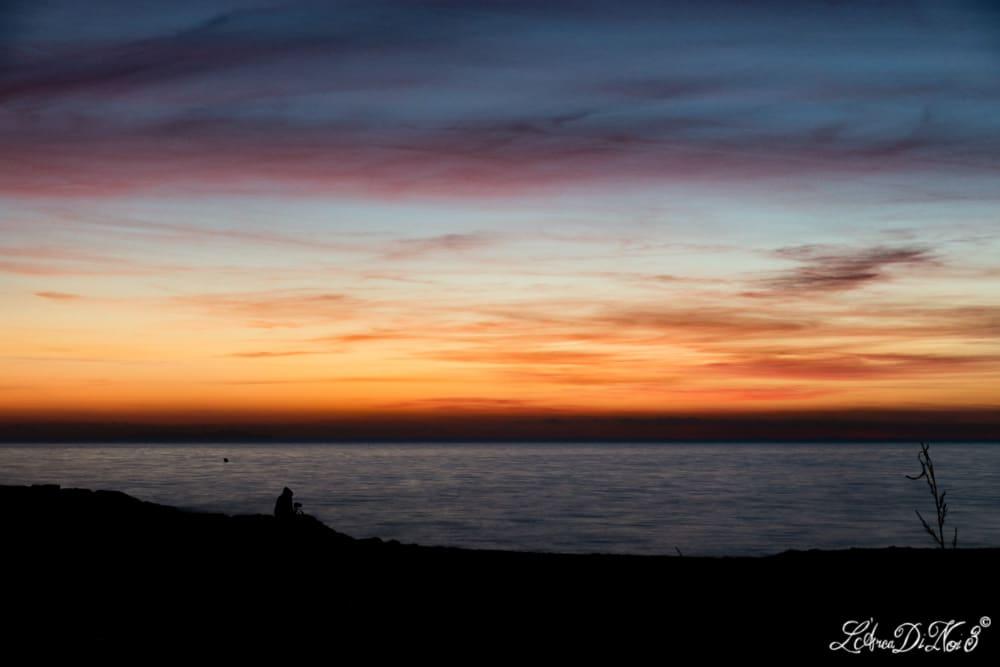 Le Gorette Cecina tramonto