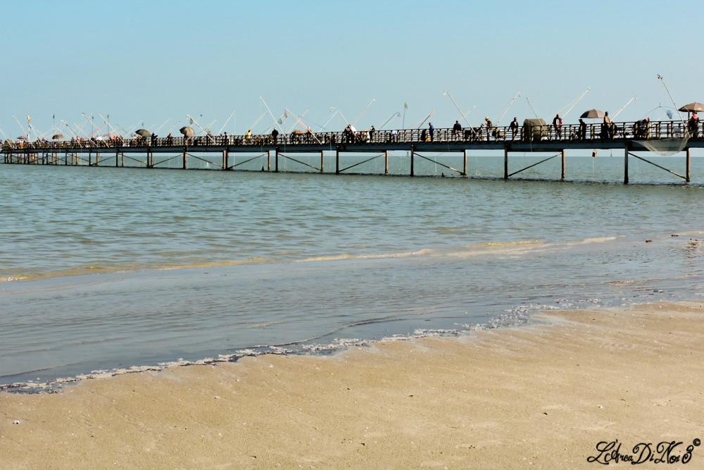 Lido di Volano pontile pescatori