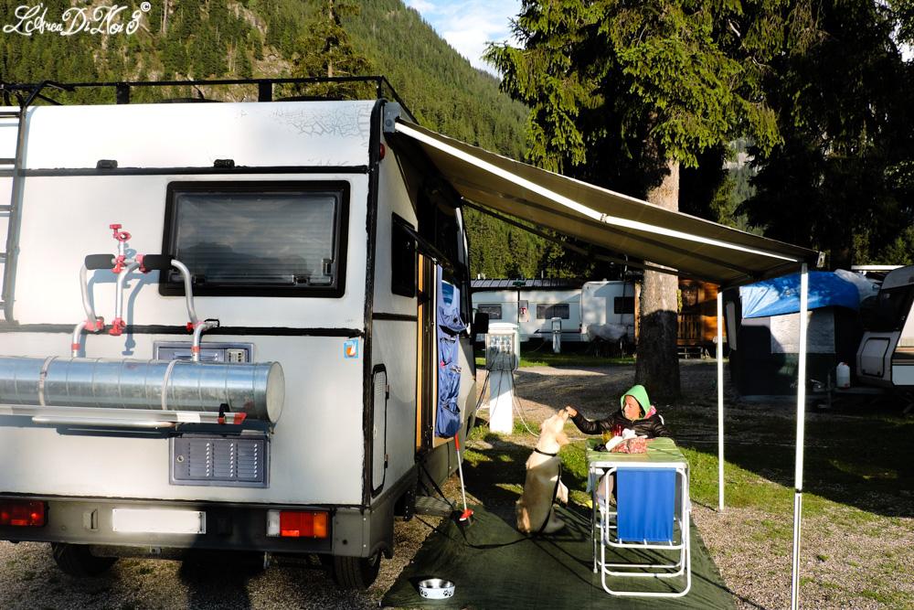 Val di Fassa Canazei campeggio