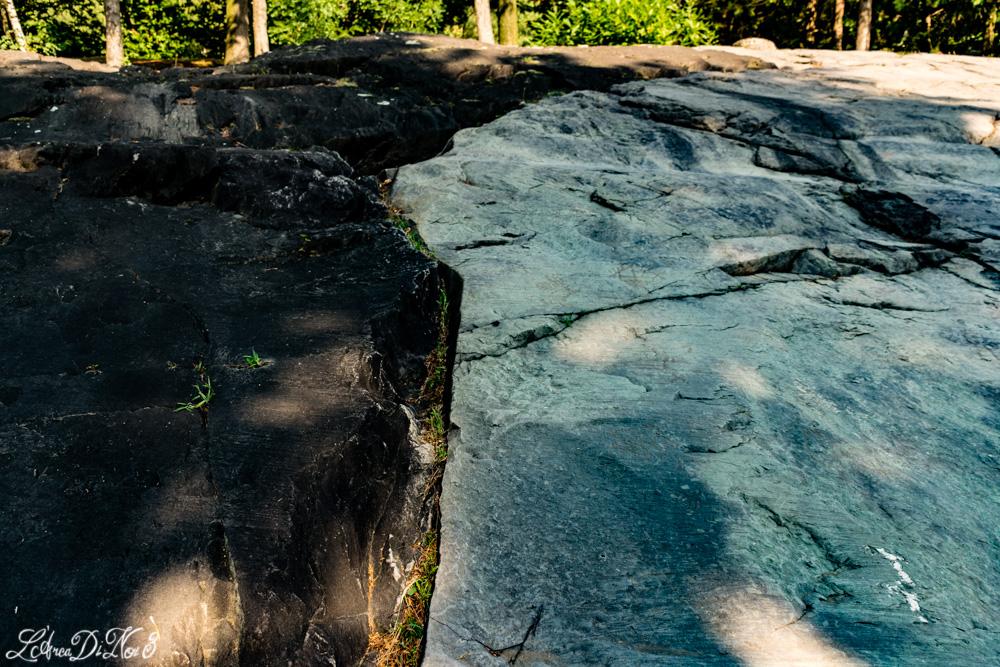 Capo di Ponte incisioni contrasto rocce