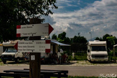 Area sosta camper Cuneo