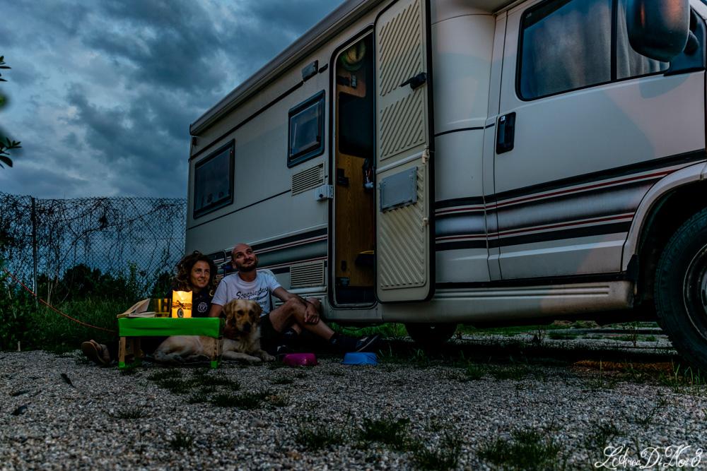 Cuneo area sosta camper