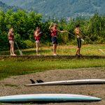 Lago di Lugano in camper: Porlezza, un po' di Svizzera in Italia