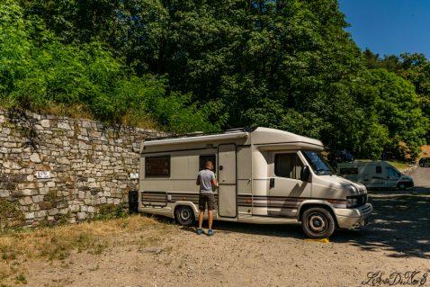 Area sosta camper a Orta San Giulio – Lago d'Orta