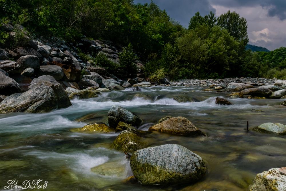 Paesana fiume Po