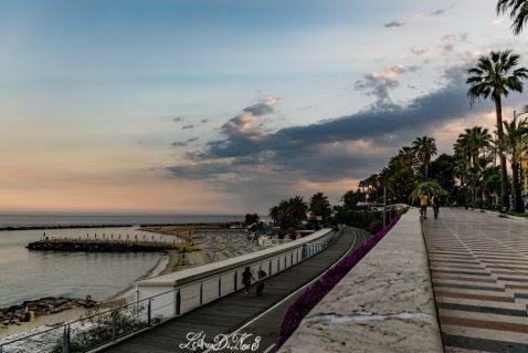 Sanremo, la città dei fiori, in camper