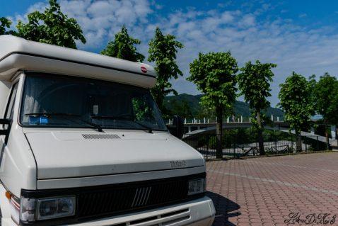 Area sosta camper gratuita a Varzi Oltrepò Pavese