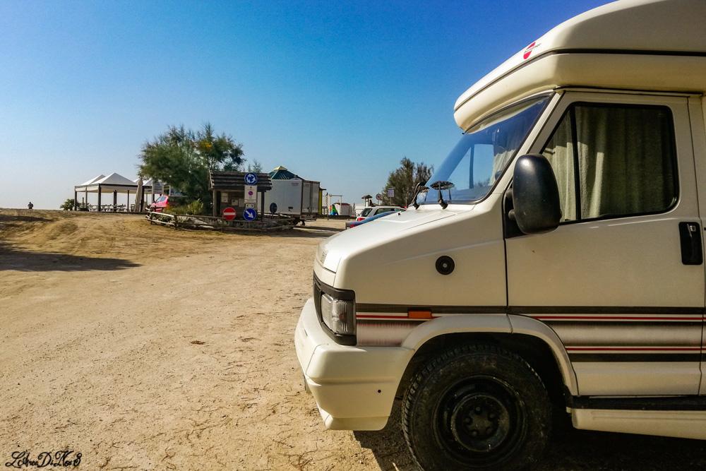 Camper spiaggia Cavallino Treporti