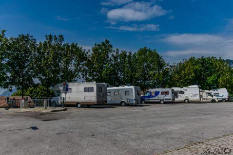 Area sosta camper a Gemona del Friuli