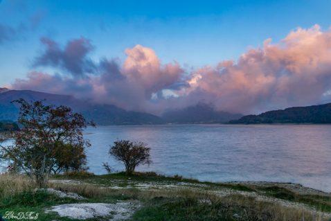 Lago di Campotosto -Galleria
