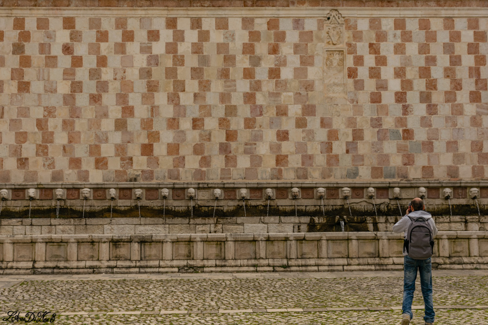 L'Aquila fontana delle 99 cannelle