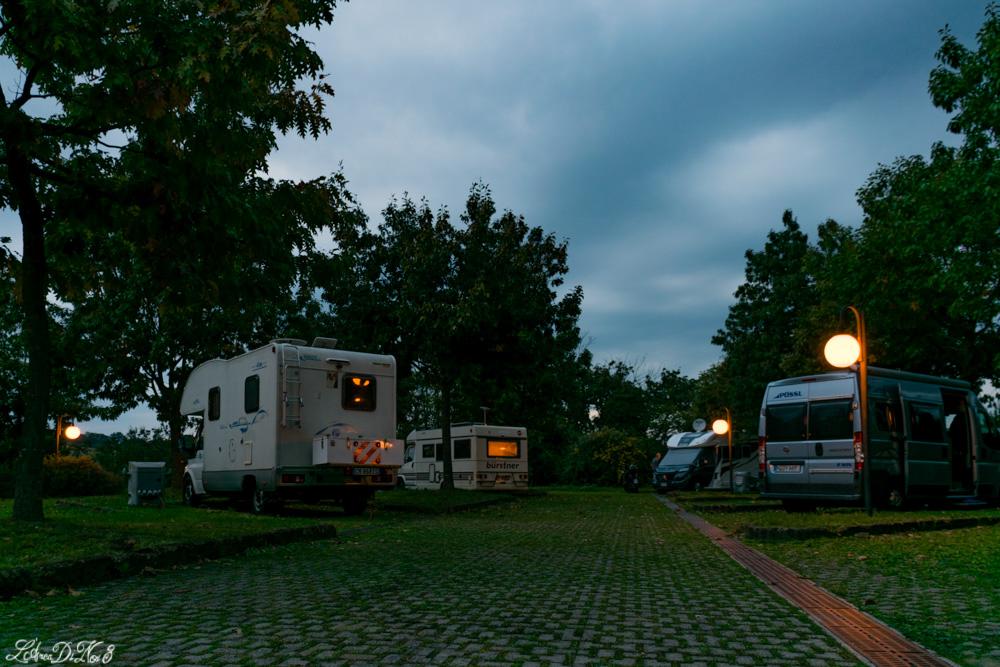 Area sosta camper Lubriano