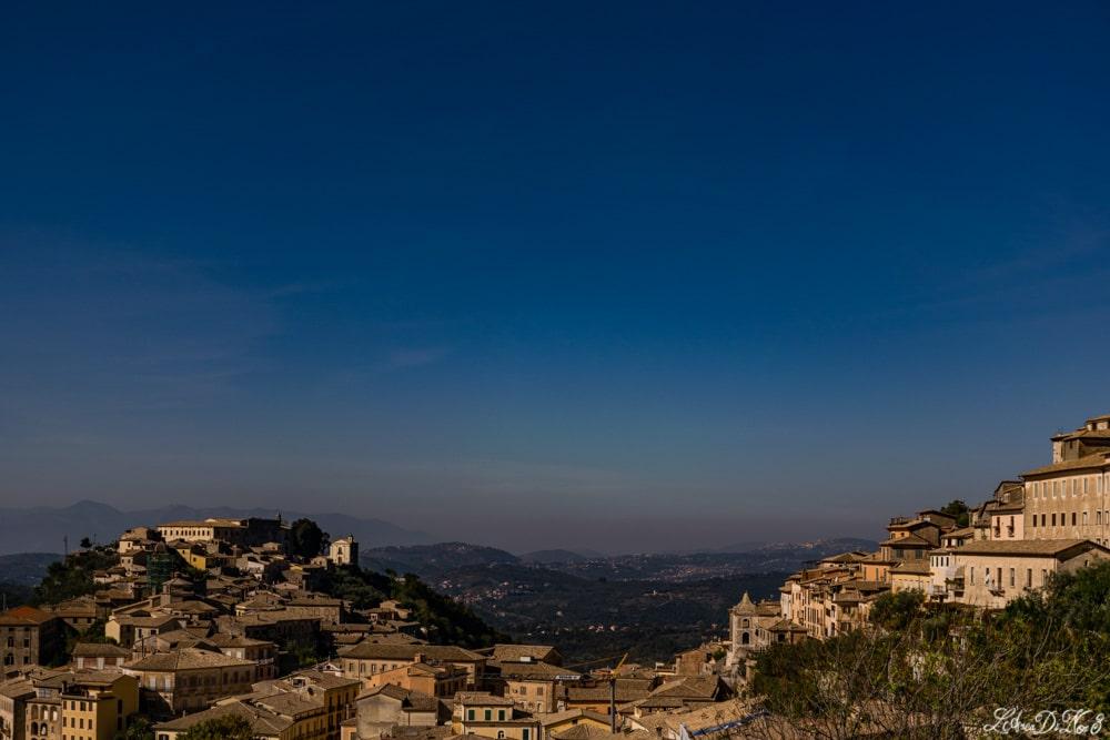 Arpino vista su Civita Falconara