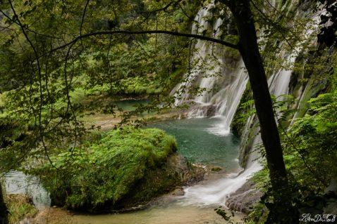 In camper alla cascata delle Marmore