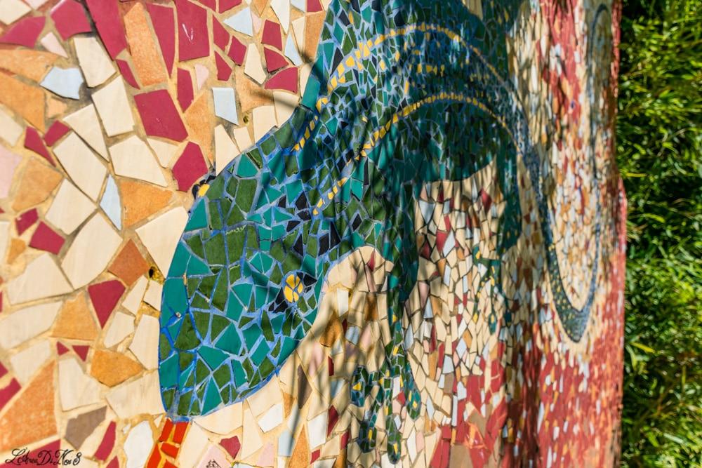 Cento parco del gigante mosaico