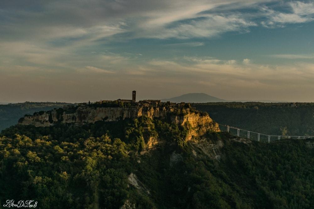 Civita di Bagnoregio panorama visto dall'alto