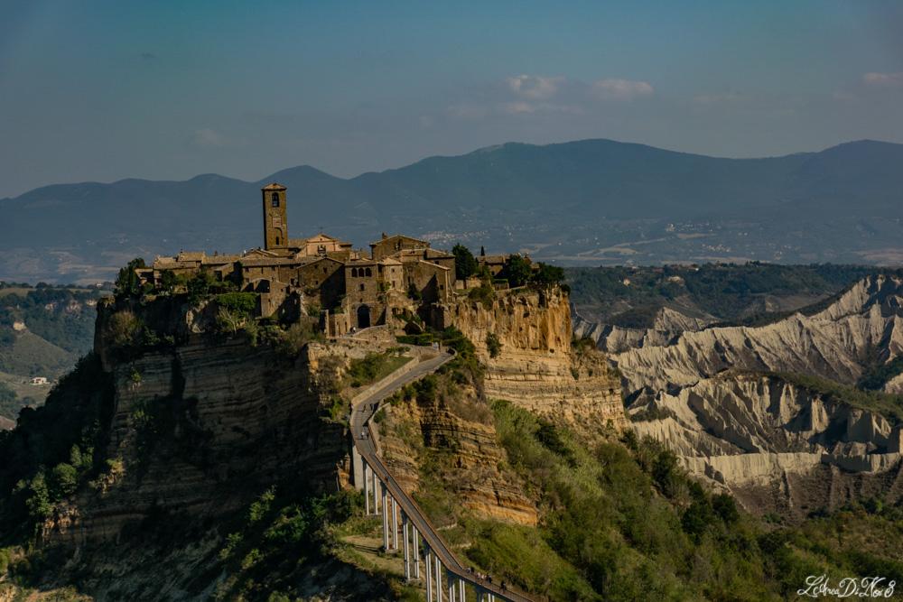 Civita di Bagnoregio vista dal Belvedere