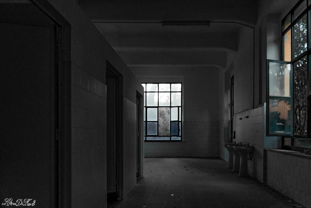 Interno della caserma Piave abbandonata a Orvieto