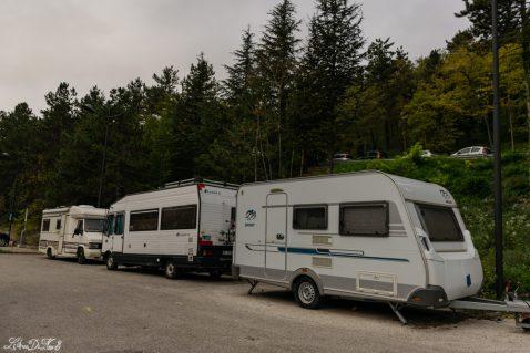 Area sosta camper gratuita a L'Aquila
