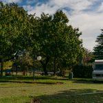 Area sosta camper Paime comoda per visitare Civita di Bagnoregio