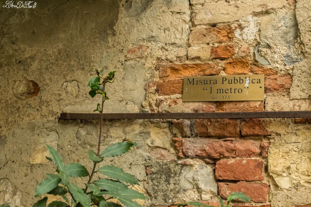 Lucignano misura pubblica antica