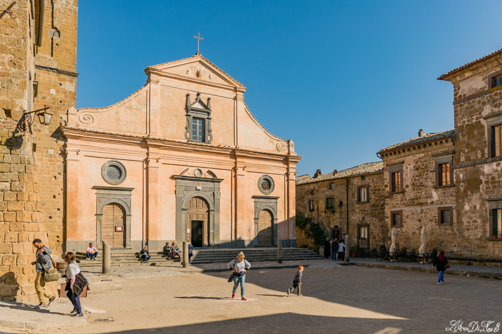 Piazza San Donato a Civita di Bagnoregio