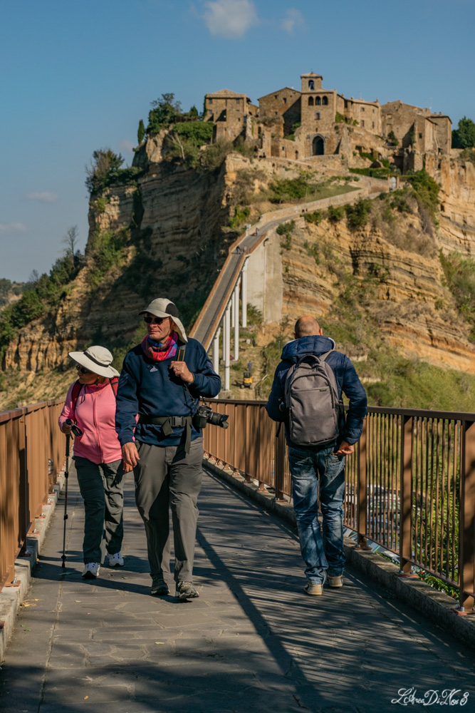 Ponte pedonale a Civita di Bagnoregio