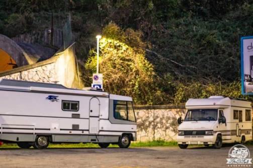 Lerici parcheggio camper