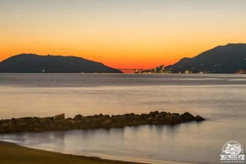 Lerici Portovenere tramonto