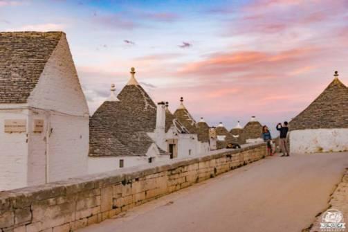 Alberobello tramonto