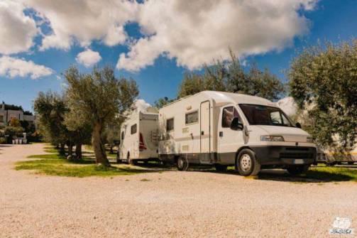 Alberobello area sosta camper