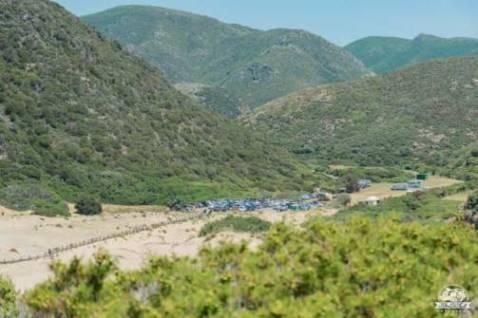 Dove sostare in Sardegna: l'area sosta camper a Cala Domestica
