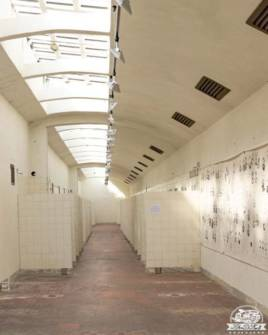 Carbonia Grande Miniera di Serbariu lampisteria docce Museo del Carbone