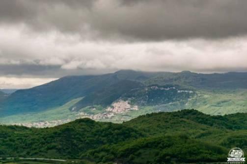 Santuario di Castelpetroso belvedere