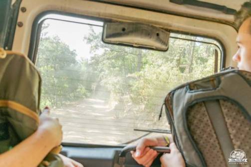 Gola Gorropu jeep transfer