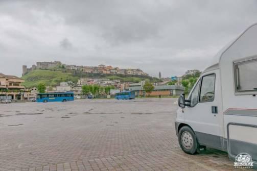 Melfi parcheggio camper