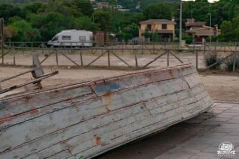 Parcheggio camper comunale a Porto Pino