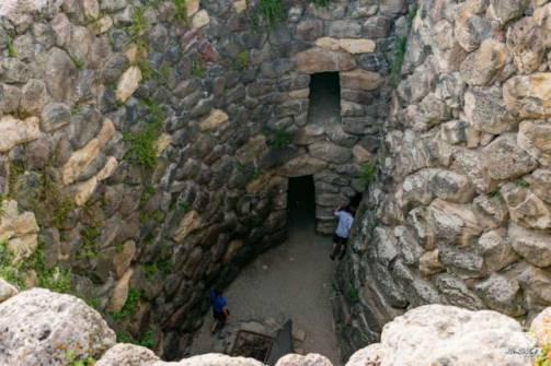 Su Nuraxi di Barumini sito archeologico pozzo