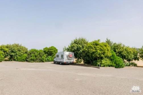 Parcheggio camper Su Nuraxi di Barumini