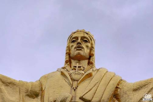 Bienno Cristo Re statua