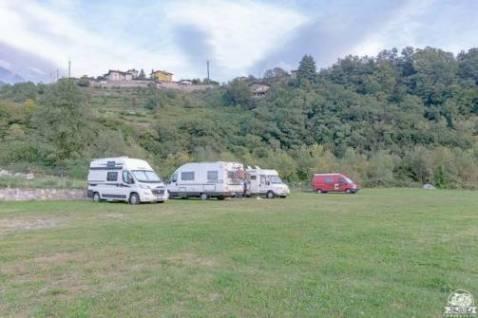 Area sosta camper Bienno, il borgo degli artisti