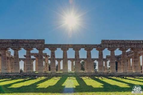 Campania in camper: l'area archeologica di Paestum